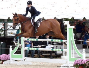 Nina Columbia and Checkland. (Photo by Nancy Jaffer)