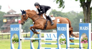Ryan Wood rode Ruby to win the featured Preliminary Essex division at the Mars Essex Horse Trials.