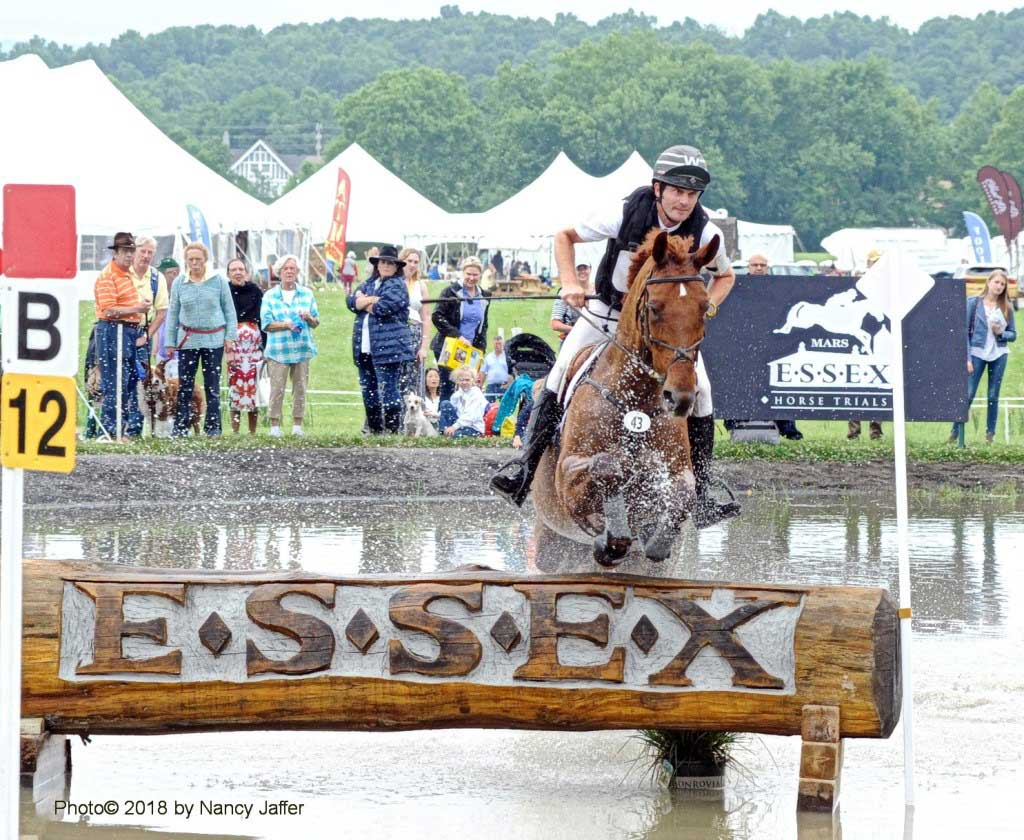 Ryan Wood and Ruby won the Open Preliminary division at the Mars Essex Horse Trials in 2018. (Photo©2018 by Nancy Jaffer)