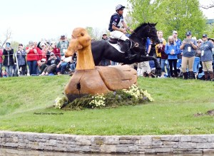 The MARS Essex Horse Trials' Advanced Division has attracted Boyd Martin, whose second-place finish at the Land Rover Kentucky event last month made him the top U.S. rider at that competition. (Photo©2019 by Nancy Jaffer)